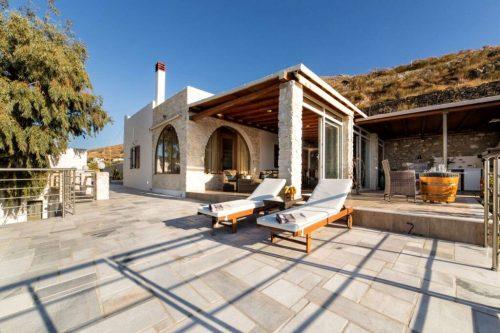 Leuk vakantiehuis Amazing Sea View Villa In Parikia in Griekenland