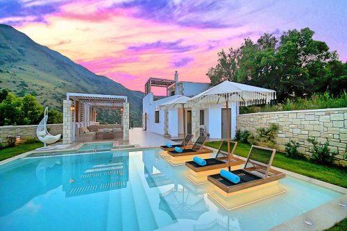 Leuk vakantiehuis Blue Lake Villa in Griekenland