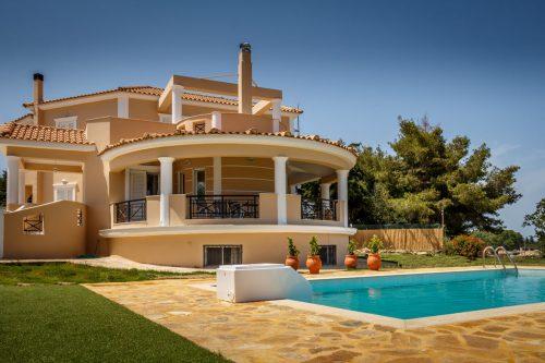 Leuk vakantiehuis Buena Vista Villa in Griekenland