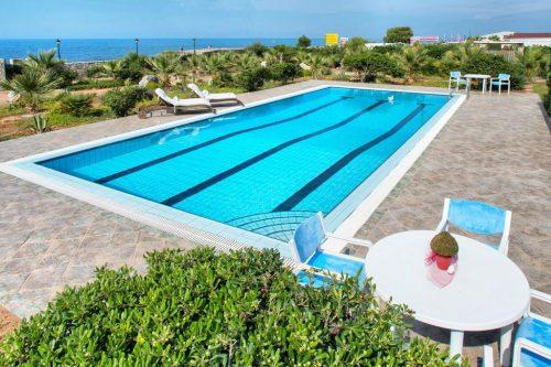 Leuk vakantiehuis Cretan Beachfront Villa in Griekenland