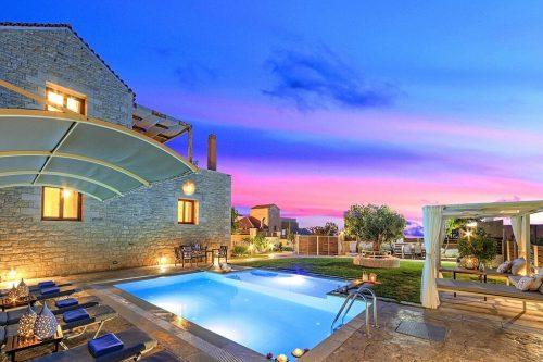 Leuk vakantiehuis Cretan Sunrise Villa in Griekenland