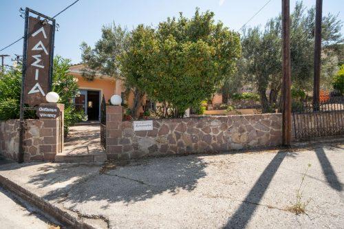 Leuk vakantiehuis Lassia Studio 10 Mit Poolblick in Griekenland