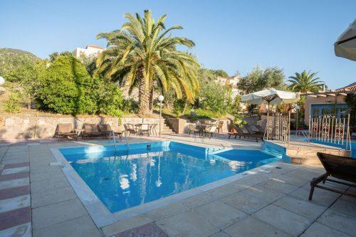 Leuk vakantiehuis Lassia Studio 11 Mit Poolblick in Griekenland