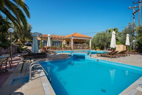 Leuk vakantiehuis Lassia Studio 15 Mit Poolblick in Griekenland