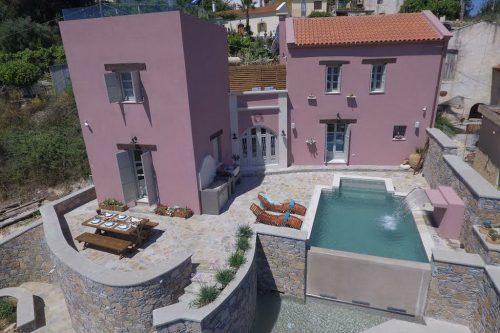 Leuk vakantiehuis Liodosifis Mansion in Griekenland