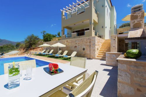 Leuk vakantiehuis Petro Kampos Villa 1 in Griekenland