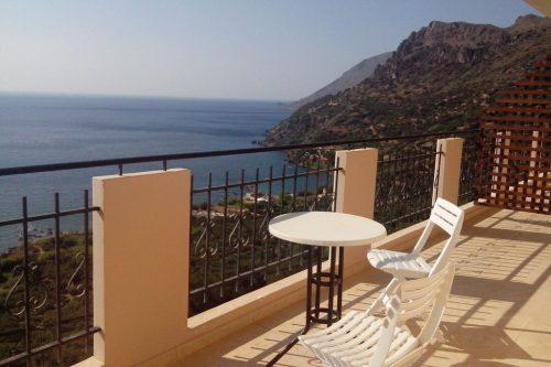 Leuk vakantiehuis Seaview Studio 1 in Griekenland