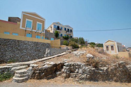 Leuk vakantiehuis Symi Sun Apartment 1 Mit Wunderschönem Meerblick in Griekenland