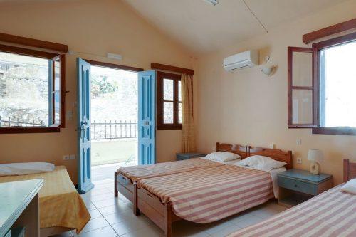 Leuk vakantiehuis Symi Sun Apartment 2 Mit Wunderschönem Meerblick in Griekenland