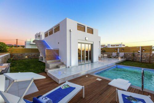 Leuk vakantiehuis Thalasses Villa 1 in Griekenland