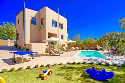 Leuk vakantiehuis Villa Aclando in Griekenland