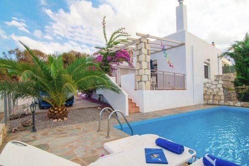 Leuk vakantiehuis Villa Afroditi in Griekenland