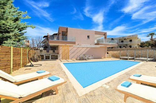 Leuk vakantiehuis Villa Allas in Griekenland