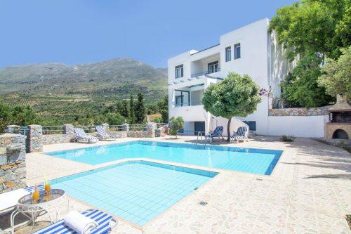 Leuk vakantiehuis Villa Anemos in Griekenland