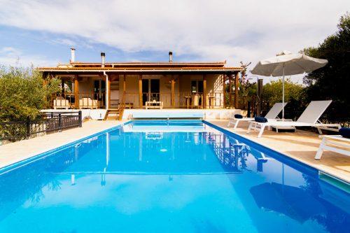 Leuk vakantiehuis Villa Angela in Griekenland