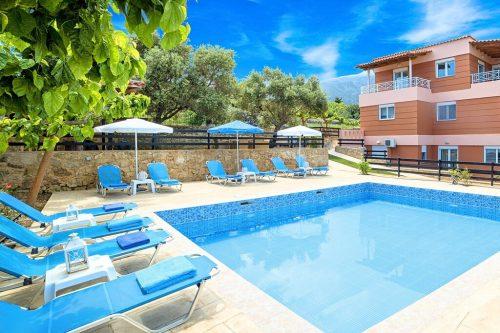 Leuk vakantiehuis Villa Aqua Mare in Griekenland