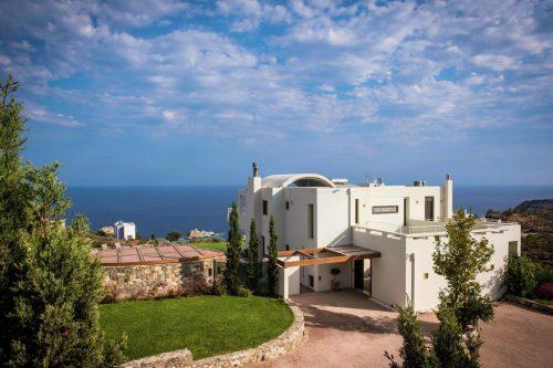 Leuk vakantiehuis Villa Aspalathos in Griekenland