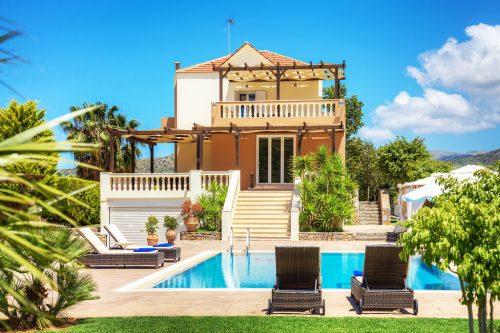 Leuk vakantiehuis Villa Athena in Griekenland