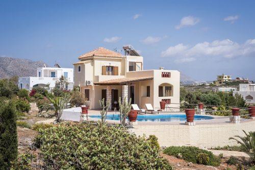 Leuk vakantiehuis Villa Bluebell in Griekenland