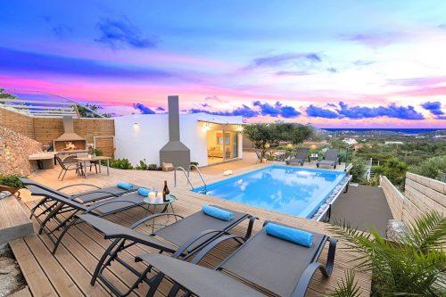 Leuk vakantiehuis Villa Canes in Griekenland