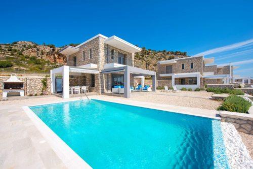Leuk vakantiehuis Villa Canyon View in Griekenland