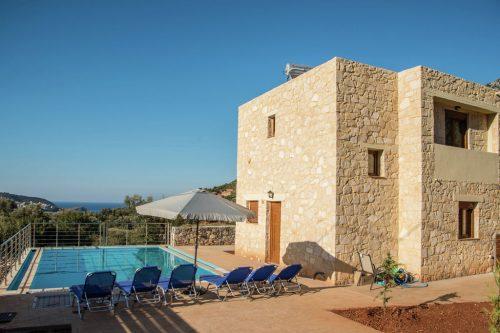 Leuk vakantiehuis Villa Coral in Griekenland