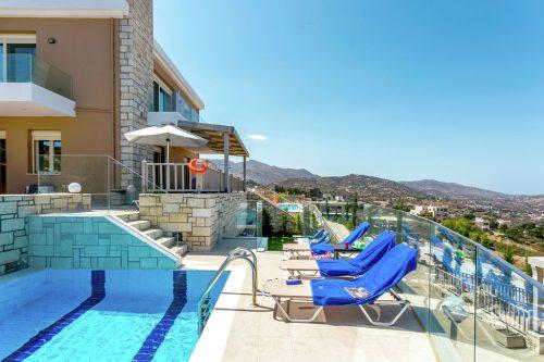 Leuk vakantiehuis Villa Diana in Griekenland