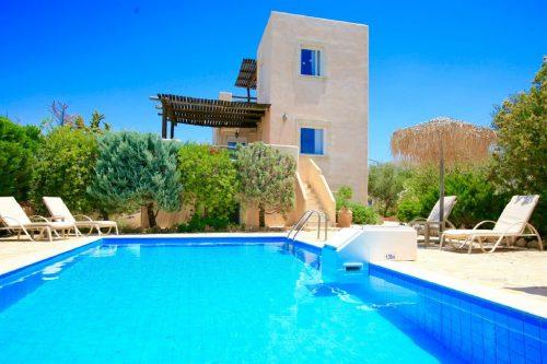 Leuk vakantiehuis Villa Elaia in Griekenland