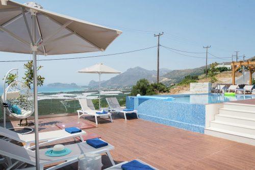 Leuk vakantiehuis Villa Elpida in Griekenland