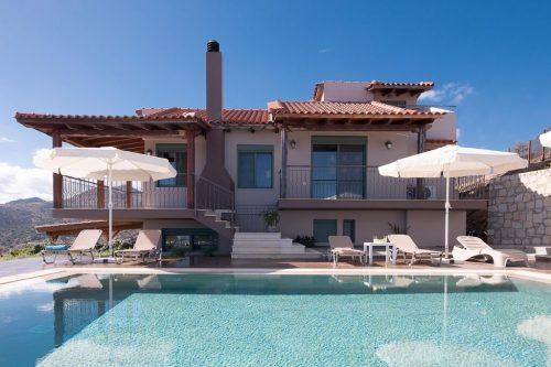 Leuk vakantiehuis Villa Eolos in Griekenland