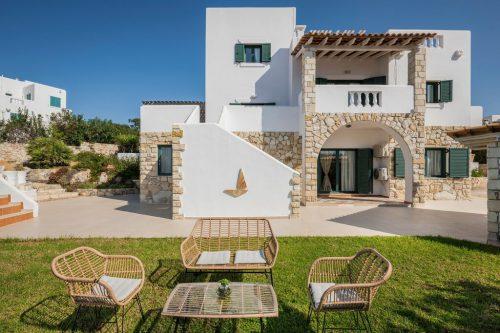Leuk vakantiehuis Villa Faidra in Griekenland
