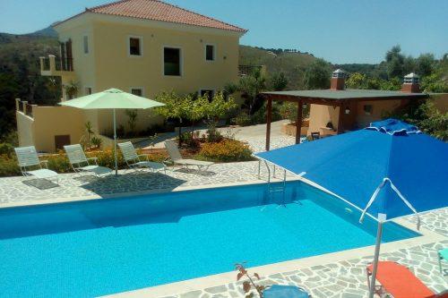 Leuk vakantiehuis Villa Farangi in Griekenland