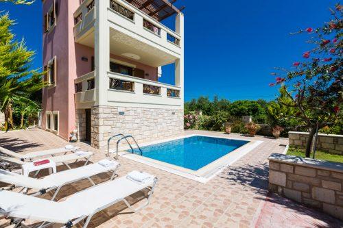 Leuk vakantiehuis Villa Flabelina in Griekenland
