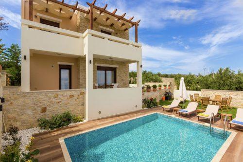 Leuk vakantiehuis Villa Fragkia in Griekenland