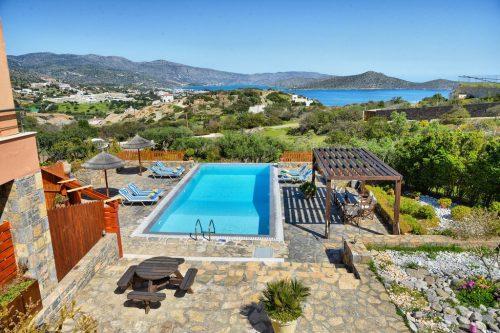 Leuk vakantiehuis Villa Glan Y Mor in Griekenland