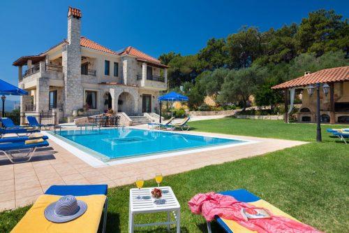 Leuk vakantiehuis Villa Hermes in Griekenland