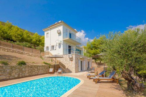 Leuk vakantiehuis Villa Keri Sea in Griekenland