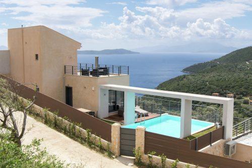 Leuk vakantiehuis Villa Krystle in Griekenland