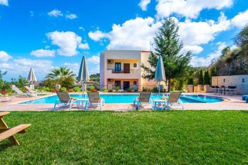 Leuk vakantiehuis Villa Legathes in Griekenland
