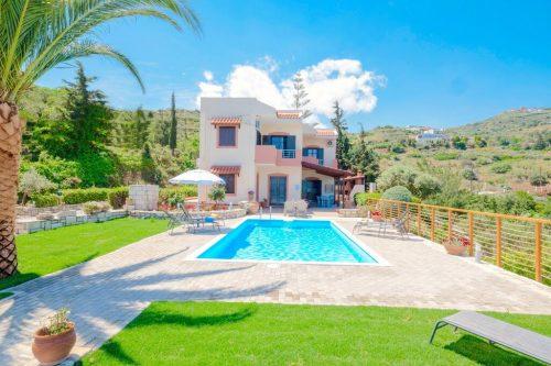 Leuk vakantiehuis Villa Lygaria in Griekenland