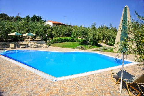Leuk vakantiehuis Villa Manolis in Griekenland