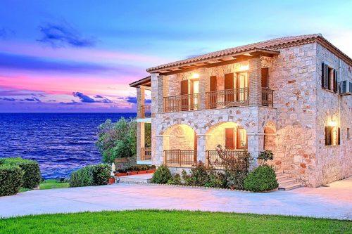 Leuk vakantiehuis Villa Mare Psarou in Griekenland