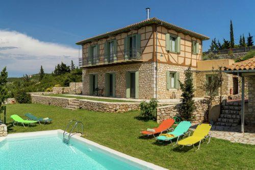 Leuk vakantiehuis Villa Melivaro in Griekenland