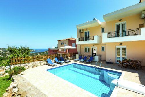 Leuk vakantiehuis Villa Nikolas in Griekenland