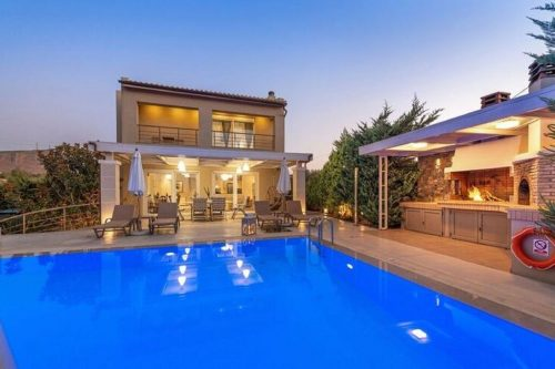 Leuk vakantiehuis Villa Penelope in Griekenland