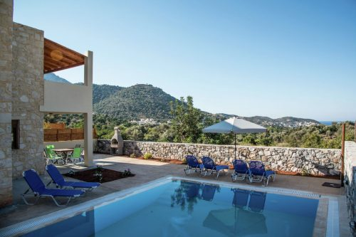 Leuk vakantiehuis Villa Ruby in Griekenland