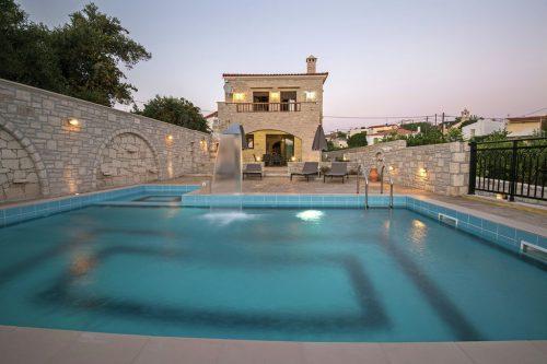 Leuk vakantiehuis Villa Semeli in Griekenland