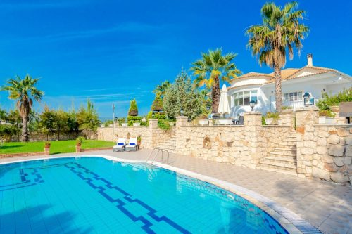 Leuk vakantiehuis Villa Silia in Griekenland