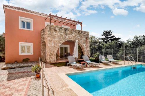 Leuk vakantiehuis Villa Silveria in Griekenland