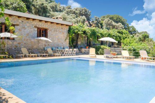 Leuk vakantiehuis Villa Talos in Griekenland